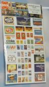 Busch 01130 DDR advertising signs - reduced